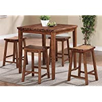 5-Pc Tall Table Set