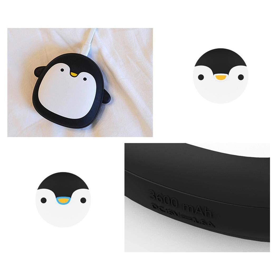 Sisaki Wiederaufladbare tragbare Mini-Tier-USB-Handw/ärmer-Powerbank Notfallw/ärmer