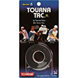 Tourna Tac, Tacky Feel Tennis Grip, White, 3-Roll Pack