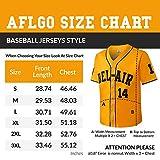 AFLGO Bel Air #14 Baseball Fresh Prince M-XXL