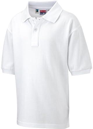 ae96ee348 David Luke Kids School Gear Childrens Uniform Shirt Junior Fairtrade Cotton  Poloshirt: Amazon.co.uk: Clothing