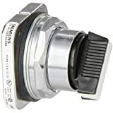 Siemens 52SA2AAB Heavy Duty Selector Switch, Water and Oil Tight, 2 Positions, Maintained Operation, Short Lever, White, A Cam Code