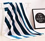"Exclusivo Mezcla 100% Cotton Oversized Large Beach Towel,Pool Towel (35""x70)—Soft, Quick Dry, Lightweight, Absorbent, and Plush"