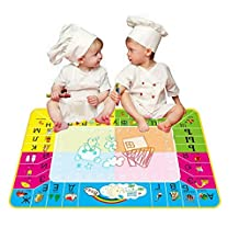 ABC® Russian Version Water Drawing Painting Writing Mat Board Magic Pen Doodle Toy