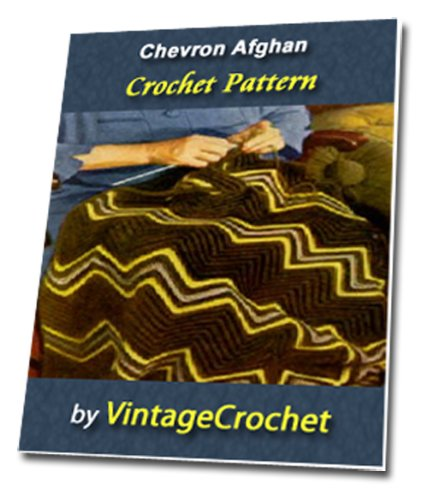 chevron-afghan-vintage-crochet-pattern