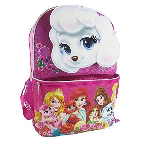 Disney Princess Palace Pets Pink Backpack 15