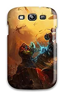 Hot OfkLkee2525Nqfqd World Of Warcraft Tpu Case Cover Compatible With Galaxy S3