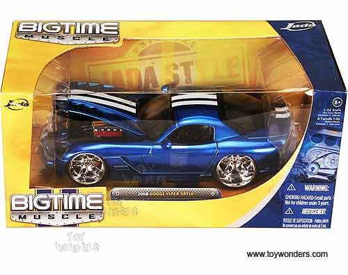 2008 Dodge Viper Diecast: 1:24 Scale Metal Highly Detailed Collectors Car