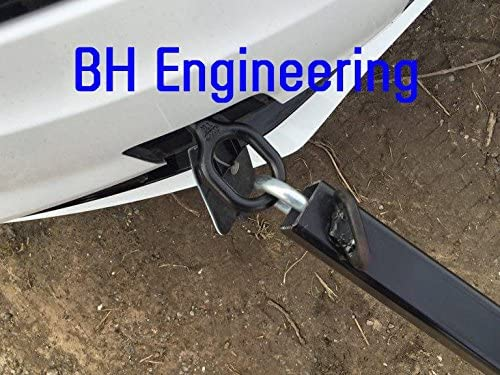 BH Engineering 3 Piece Heavy Duty 3.5 Ton Recovery Towing Bar Tow Pole 1.8M Car//Van//4x4 Hitch /& Shackle Vehicle Emergency Breakdown Rescue 50mm Ball Coupling