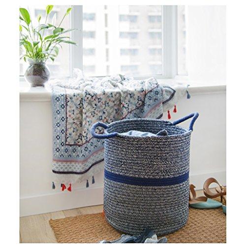 WPSNL Laundry Basket Cotton Storage Basket Hamper Snack Box Miscellaneous Children's Toy Storage Box (Size : 36cm) by WPSNL (Image #3)