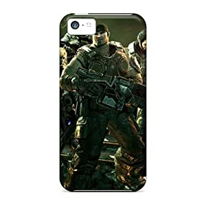 Hot IoI248vGvc Gears Of War 3 Tpu Case Cover Compatible With Iphone 4s