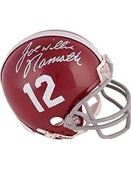 Joe Namath Alabama Crimson Tide Autographed Riddell Mini Helmet - Fanatics Authentic Certified - Autographed College Mini Helmets