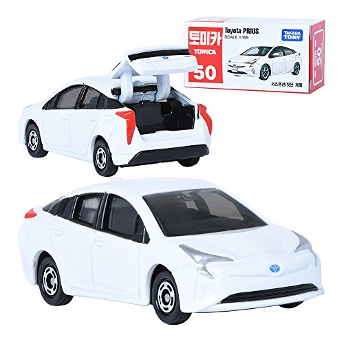TAKARA TOMY TOMICA 50 Toyota Prius 1:65 Display Mini Car