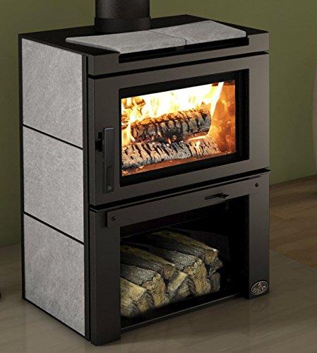 Osburn Matrix Wood Burning Stove with Soap Stone Side Panels & Blower