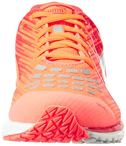 Puma Faas 300 v4 Wn - zapatillas de running de material sintético mujer rojo - Rot (fiery coral-cayenne-puma silver 07)