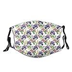 Confortevole-copertura-antivento-per-il-viso-stile-acquerello-estivo-giardino-fioritura-orchidee-viola-e-crisantemi-Pinky-decorazioni-facciali-stampate-per-adulti