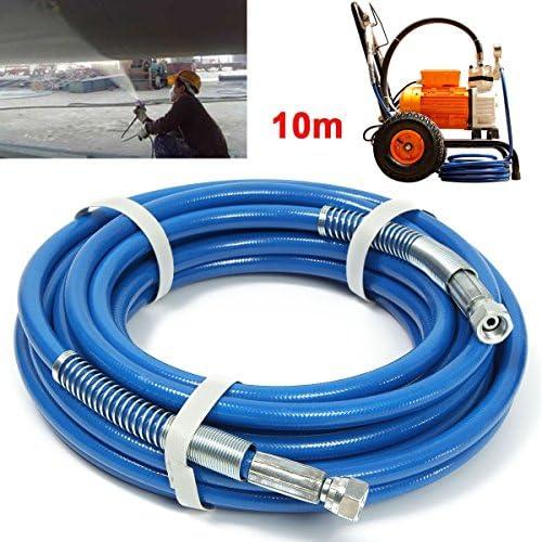 Queenwind の10m の長さのエアレスの噴霧器の繊維の管1/4 インチ5000PSI エアレスのスプレーホース