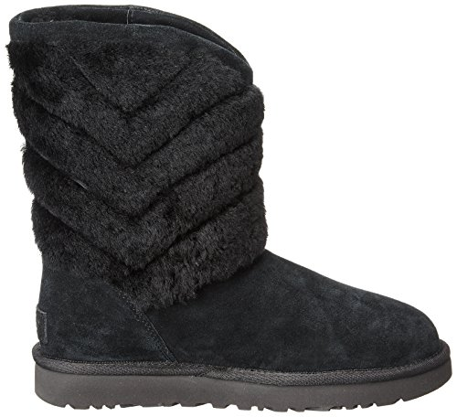 Women's UGG Tania Boots Shearling Striped Black rtZtq