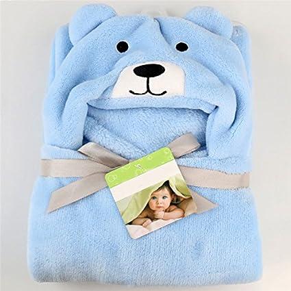 pannow bebé con capucha toalla para bebé, manta Wrap Swaddle para baño playa niños y