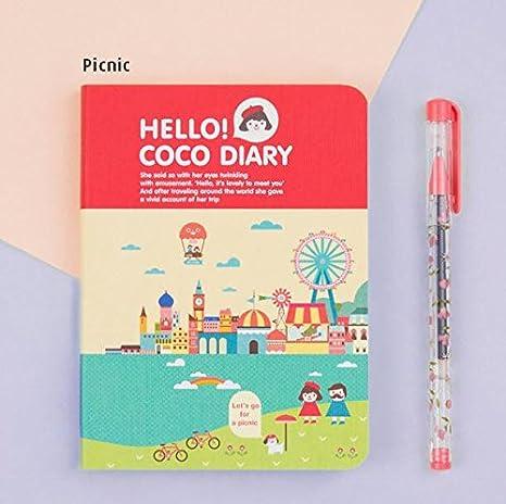 Amazon.com: Nuevo Hola coco 2018 planificador semanal ...