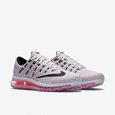 detailing 0219c 4444b Nike Womens Air Max 2016, White Black-Pink Blast (6)