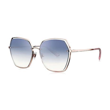 SYXISMO Gafas de Sol polarizadas Polígono Gafas de Sol ...