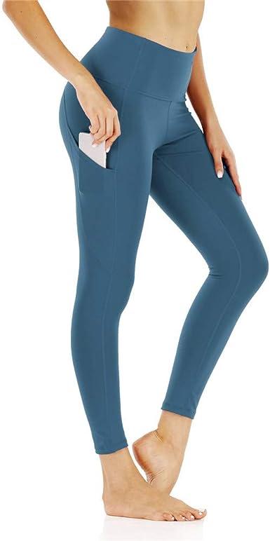 Ppppa Pantalones De Yoga Para Mujer Cintura Alta Adelgazamiento Cintura Alta Ajustados Para Yoga Amazon Es Ropa Y Accesorios