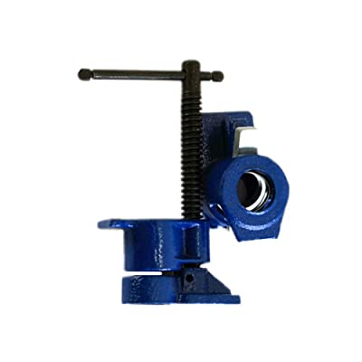 bromrefulgenc 1/2 Wood Gluing Pipe Clamp Kit, Quick Fixed F Clamp Pimp Clip Wood Gluing Pipe Clamp Set Carpenter DIY Hand Wood Craft, Heavy Duty PRO Woodworking Tool Blue : Garden & Outdoor