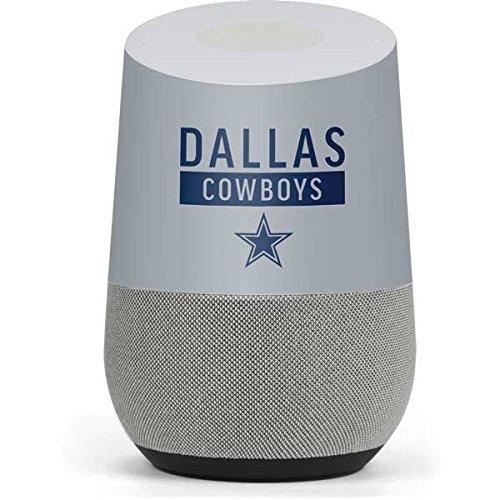 Skinit NFL Dallas Cowboys Google Home Skin - Dallas Cowboys Silver Performance Series Design - Ultra Thin, Lightweight Vinyl Decal Protection