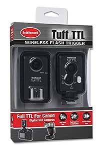 Hähnel TUFF TTL Canon - Disparador de flash sin cable (para flash individual o grupos de flashes)