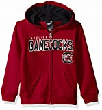 """NCAA by Outerstuff NCAA South Carolina Fighting Gamecocks Kids & Youth Boys """"Stated"""" Full Zip Hoodie, Garnet, Kids Small(4)"""