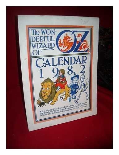 The Wonderful Wizard of Oz Calendar, 1982 ... (1982 Calendar)