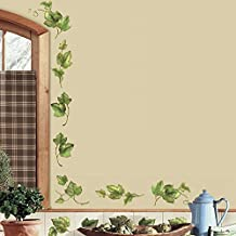 RoomMates RMK1219SCS Evergreen Ivy Peel and Stick Wall Decals