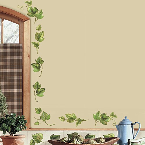 RoomMates Evergreen Ivy Peel and Stick Wall ()