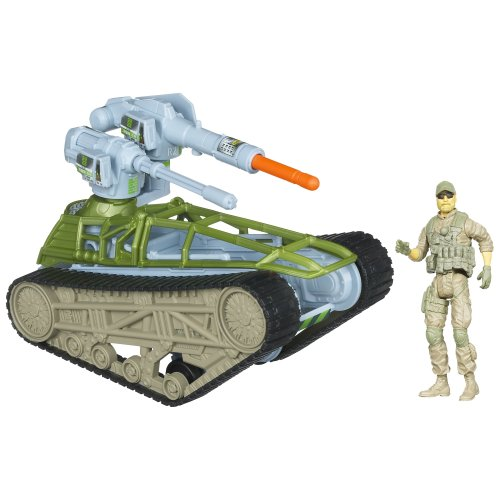 - G.I. Joe Retaliation Tread Ripper Tank Vehicle with Missile Launching Cannon