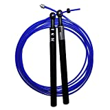 MIL-SPEC ROPES MS1 Rope - Crossfit Speed Jump Rope Best Rope for Double Unders & WOD