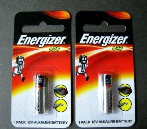 Energizer A27 27A Key Remote Alkaline 12V Battery #GTC## x 2 PCS