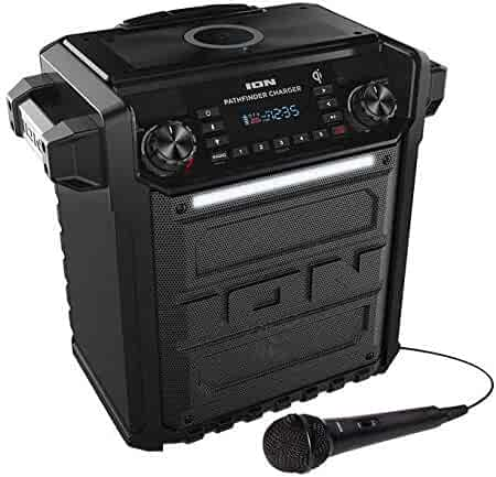 Ion Audio Pathfinder   High Power All-Weather Rechargeable Speaker (Renewed) (Pathfinder Charger)