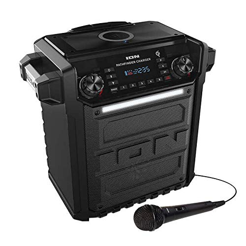 Ion Audio Pathfinder   High Power All-Weather Rechargeable Speaker (Renewed) (Pathfinder Charger) by ION Audio