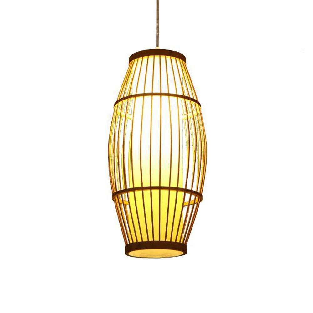 Lampe, hängende Rattan Wicker DIY Tropische Kronleuchter ...