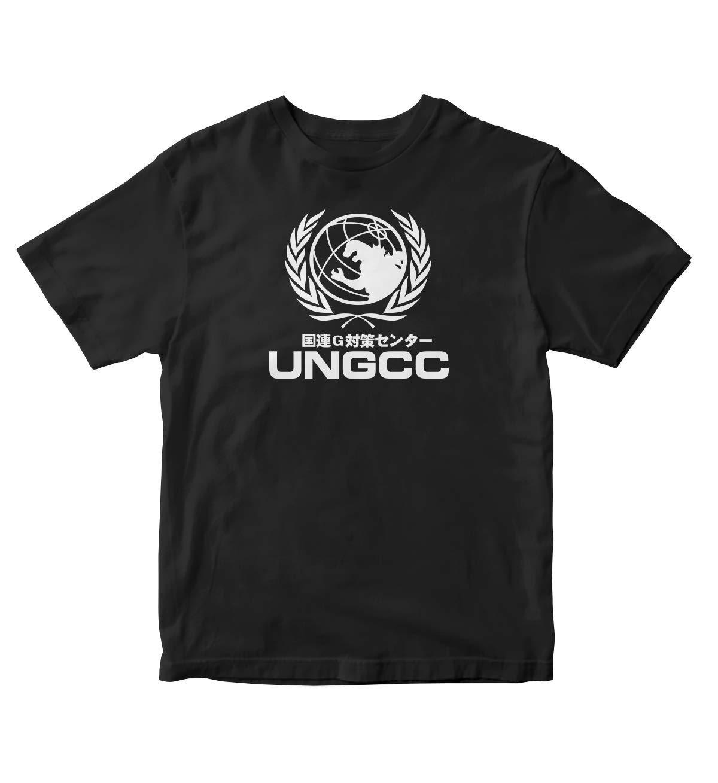 Ungcc United Nations Godzilla Manga Anime Black Shirt S A66