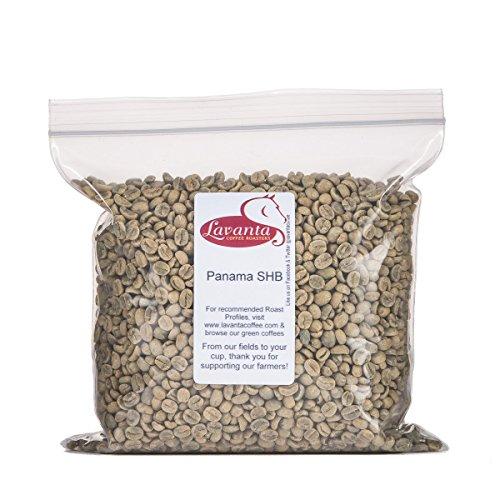 Lavanta Coffee Roasters Panama SHB EP Green Direct Trade Coffee, 2lb