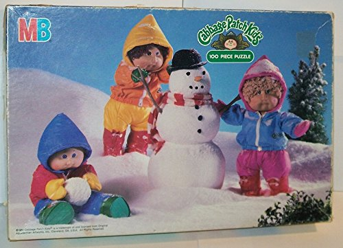 Cabbage Patch Kids 100 Piece Puzzle - 1984 (Cabbage Patch Puzzle)
