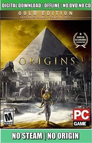 EPC Games: A-C-Origins Full PC Game (Digital Download) – No DVD/CD/No Online Multiplayer.