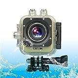 SUNSKY SJCAM M10 Plus Novatek 96660 Ultra HD 2K 1.5 inch LCD Screen Sports Action Camera with Waterproof Case, 170 Degrees Wide Angle Lens, 30m Waterproof ( Color : Gold )
