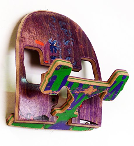 Recycled Skateboard Coat Hook - (1) Single