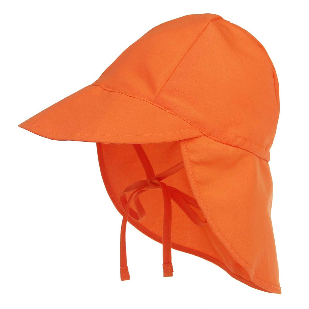 Baby Boys Girls Sun Hat Toddler Adjustable Summer UPF 50 Sun Protection Beach Flap Hat with Wide Brim
