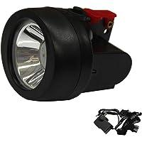 1W 3500Lx Miner Torch Cordless Light Mining Cap Lamp LED Head Hunt Safe 18001017 WEIDA