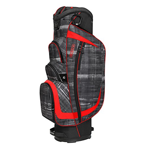 OGIO Shredder Cart Bag, Paranormal/Red