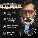 Shaving Razor Strop - Keep your Blades Sharp, Great